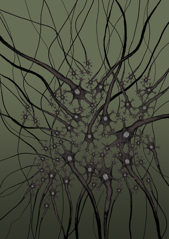 Animated music video - On the knees, art 2 , 2009