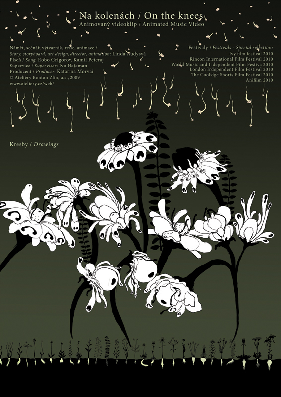 Animated music video - On the knees, info, 2009