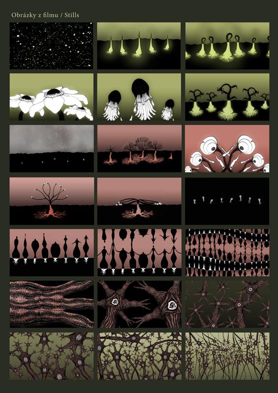 Animated music video - On the knees, stills 1, 2009