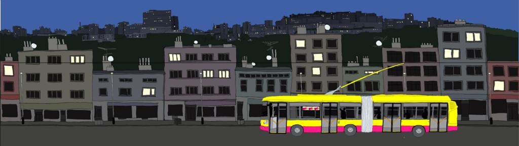 BusFest 2008, animated advertisment, art design