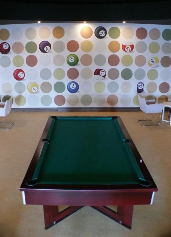 billiard club_wall painting_6x3m