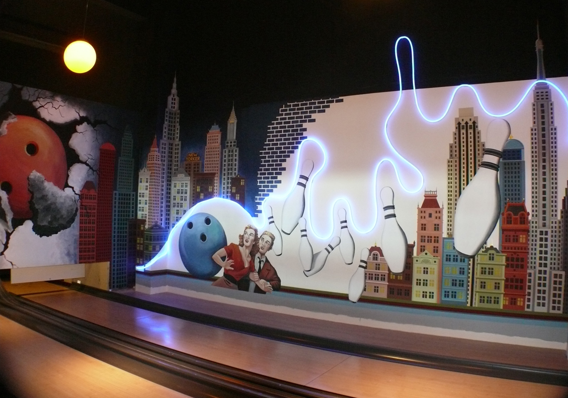bowling_wall painting_10x4m