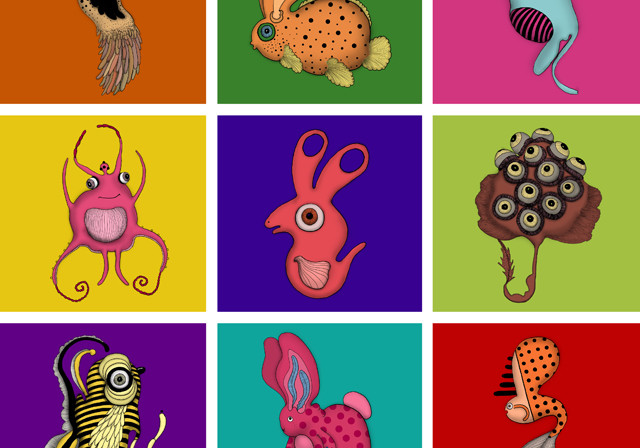 Creative animals