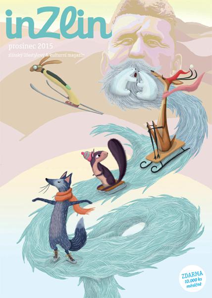 Winter pleasures Magazine titul page
