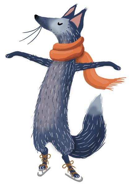 winter pleasures - fox