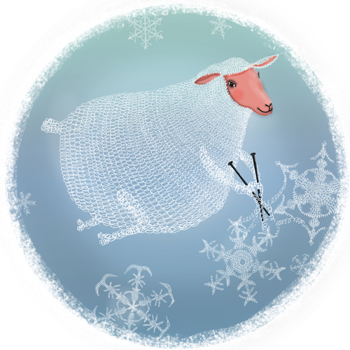 snow-sheep