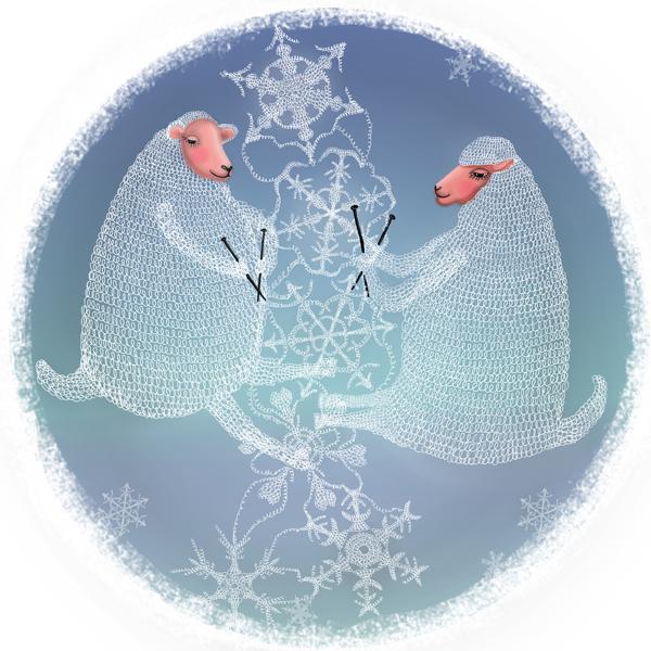 snow-sheeps-couple