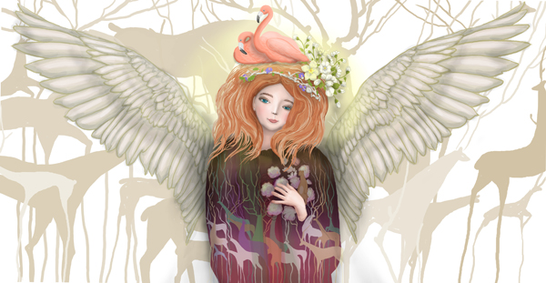 Cup - Angel - design 2