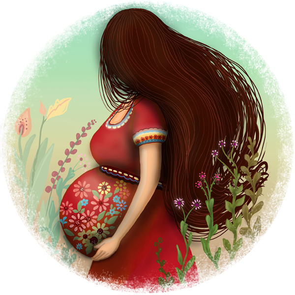 Herbal tea label - for pregnant woman