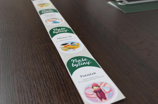 Herbal tea labes - print 2