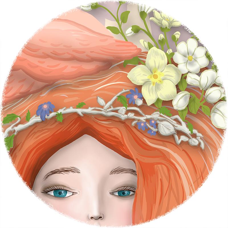angel_flamingo_flowers_web