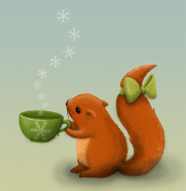 squirrel loves tea_web