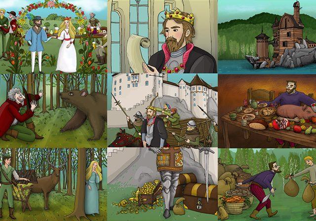 Zbojnické pohádky ČT :D / Brigand fairytales Czech TV