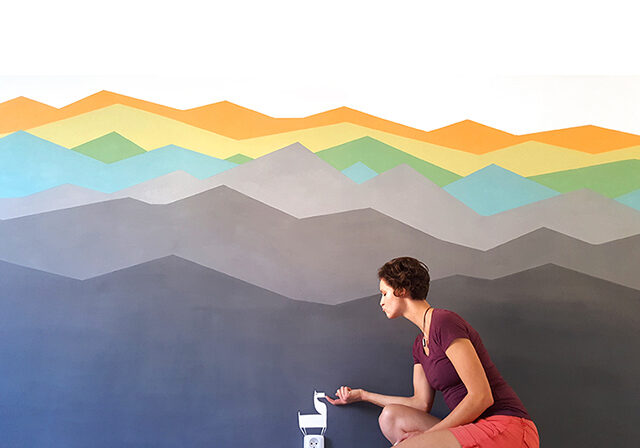 Horizon WALL PAINTING