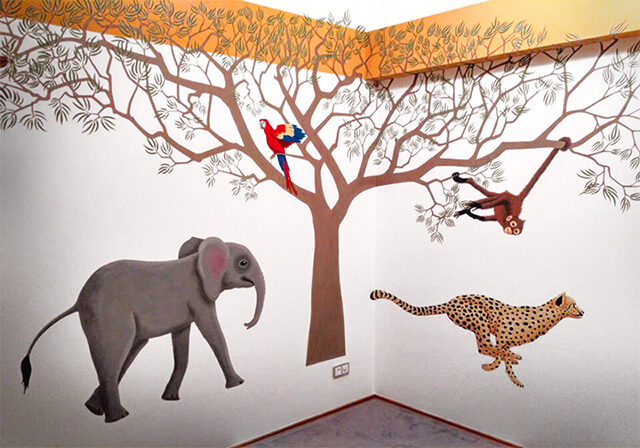 Safari WALL PAINTING