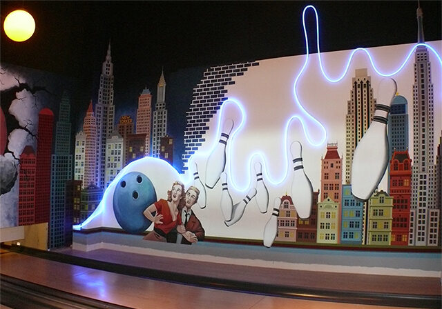 Bowling WALL PAINTING